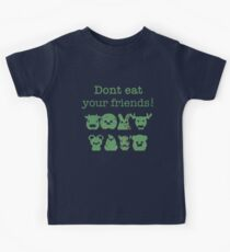 Don't Eat Your Friends Kids Tee