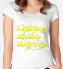 LEGALIZE AVADA KEDAVRA Women's Fitted Scoop T-Shirt