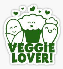 Vegan Veggie Lover Sticker
