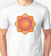 Lotus Om Symbol Slim Fit T-Shirt