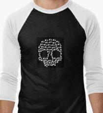 Scooter Skull Men's Baseball ¾ T-Shirt