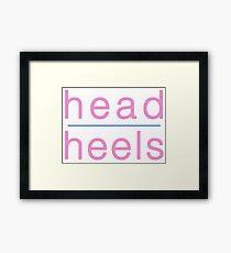 Head Over Heels Framed Print