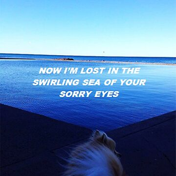 """""""Lost in the swirling sea"""" by thetaylahe"""
