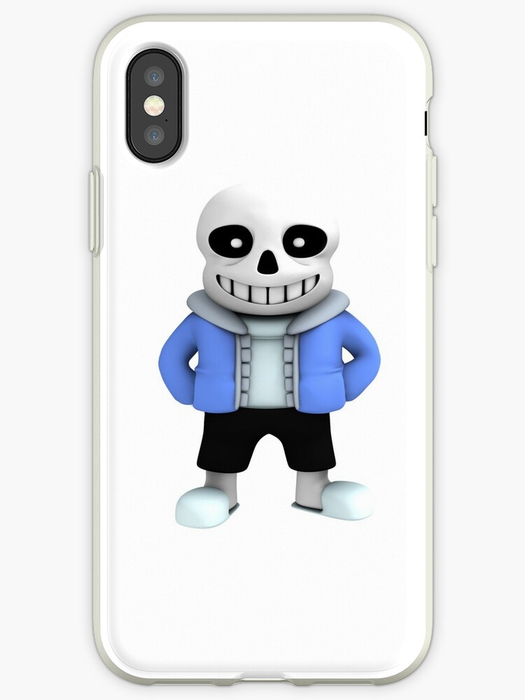 Undertale sans iphone cover by Afrozone