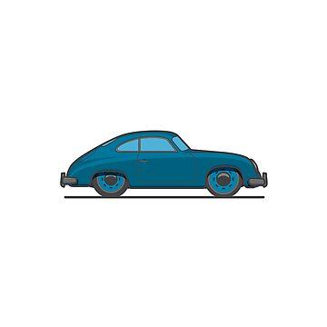 #18 Porsche 356 by brownjamesdraws