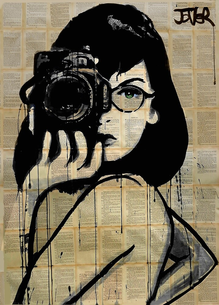 The photographer by Loui Jover Redbubble