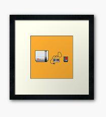 #38 Nintendo Entertainment System Framed Print