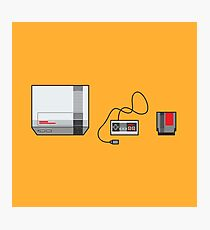 #38 Nintendo Entertainment System Photographic Print