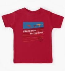 #Kangaroo - Aussie Icon Kids Tee