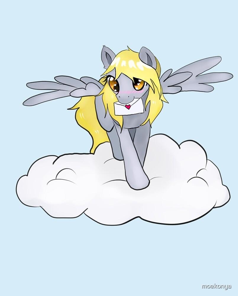 Derpy hooves cloud by moekonya