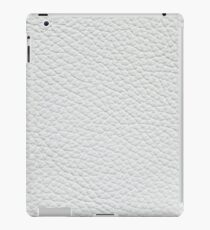 White artificial furniture leather iPad Case/Skin