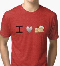 Asexual Cake Tri-blend T-Shirt