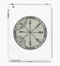 A Talisman to Enchant Treasures and Preserve Against Earthquakes  iPad Case/Skin