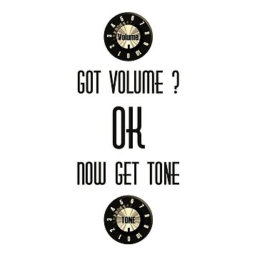 Got Volume (Musicians Stuff) by felinson