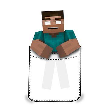 Minecraft: Pocket Herobrine by kijkopdeklok
