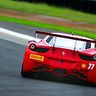 Ferrari Back   Sydney Motor Sport Park   2014 by Bill Fonseca