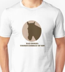 Thoroughbred of Sin Unisex T-Shirt