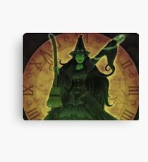 Elphaba from Wicked Musical Canvas Print
