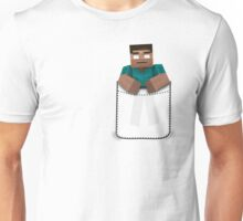 Minecraft: Pocket Herobrine Unisex T-Shirt