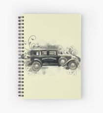 Vintage Car  Spiral Notebook