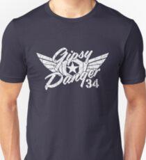 Gipsy Danger White Faded Unisex T-Shirt