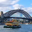 Sydney Harbour Bridge by looneyatoms