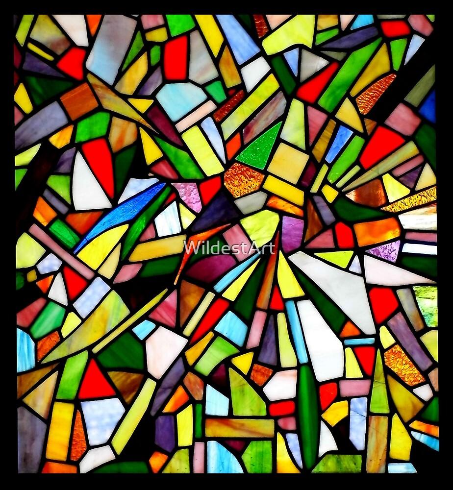 Abstract Window by WildestArt