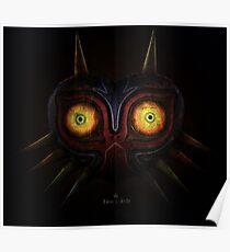 Legends of Zelda Majora's Mask Time's End Poster