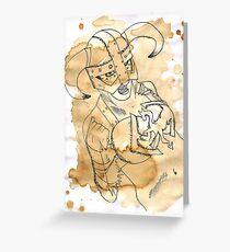 Dohvakin Greeting Card