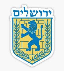 Coat of Arms of Jerusalem  Sticker