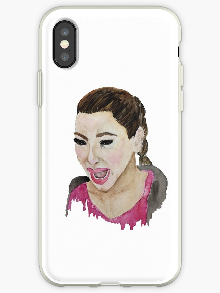 new product b0713 f903b 'Kim Kardashian Crying' iPhone Case by bexsimone