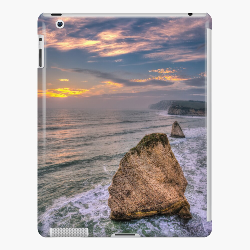 Stag and Mermaid Sunset iPad Case & Skin