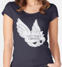 Last Place is Coming Women's Fitted Scoop T-Shirt