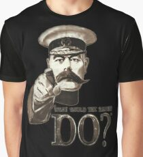 """""""What would the British do?"""" Graphic T-Shirt"""