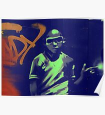 graffiti boy Poster