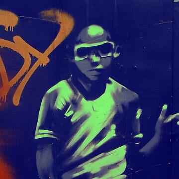 graffiti boy von fuxart