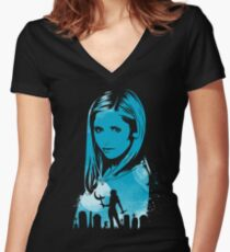 The Chosen One Women's Fitted V-Neck T-Shirt