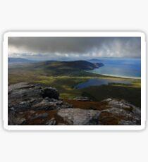 From Slievemore, Achill Island Sticker