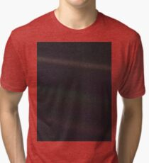 The Pale Blue Dot Tri-blend T-Shirt