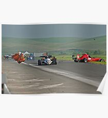Motor Sports Mishap Poster