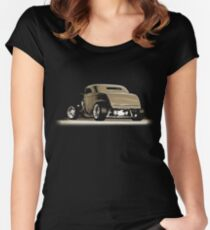 1932 Roadster (sepia) © Women's Fitted Scoop T-Shirt