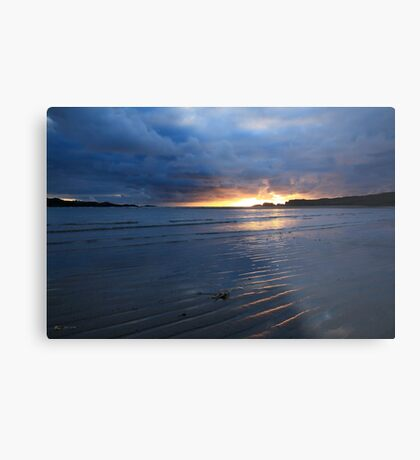 Glencolmcille Sunset Metal Print