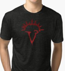 Angel Siren Red Tri-blend T-Shirt