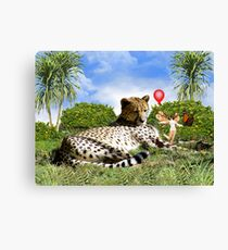 What The...? Canvas Print