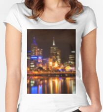 City Lights Women's Fitted Scoop T-Shirt