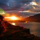 Queenstown Sunset by looneyatoms
