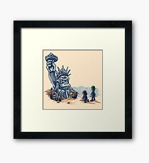 The Planet of the Kong Framed Print