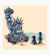 The Planet of the Kong Photographic Print