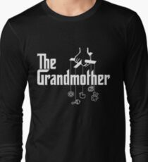 The Grandmother - Mafia Movie Spoof Long Sleeve T-Shirt