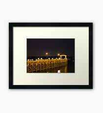 Northport Harbor Framed Print